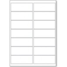 LL14  14 Labels Per Page - 10 Sheets