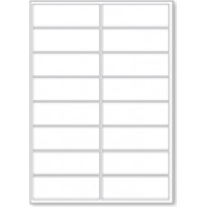 LL16  16 Labels Per Page - 1 Sheet