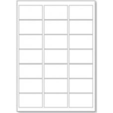 LL21 21 Labels  Per Page - 1 Sheet